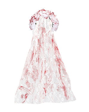 Voile mariée zombie femme