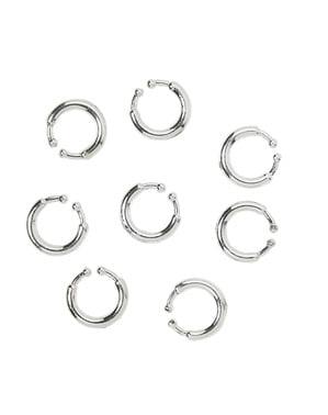 Set 8 piercings clip on
