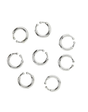 8 piercings clip on