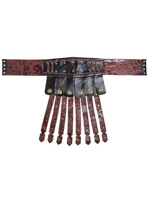 Falda de gladiador romano para adulto - para tu disfraz