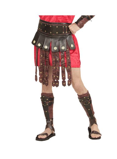 Falda de gladiador romano para adulto - original