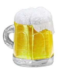 Gorro de jarra de cerveza espumosa para adulto