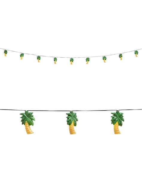 Guirnalda luminosa de palmeras - para tus fiestas