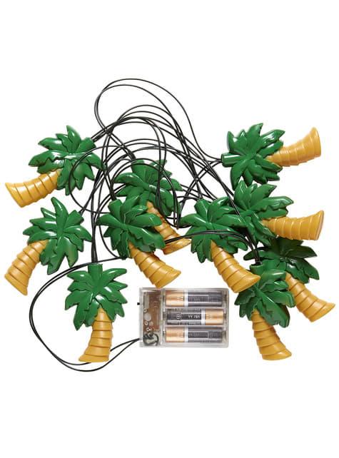 Guirnalda luminosa de palmeras - barato