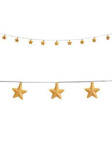 Guirnalda luminosa de estrellas
