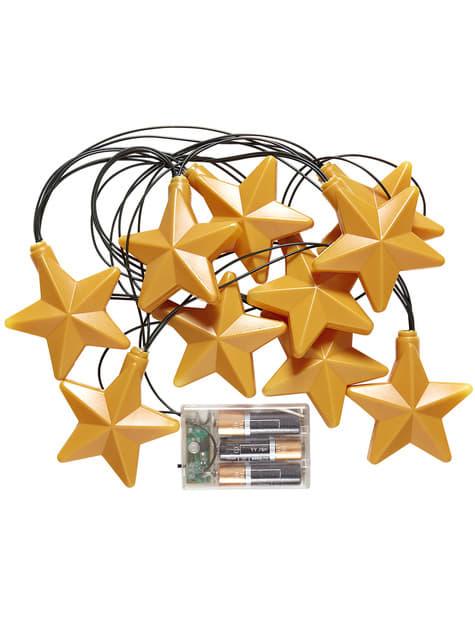 Guirnalda luminosa de estrellas - barato