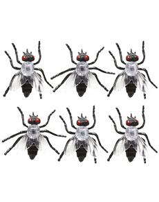 Set de 6 moscas infectadas