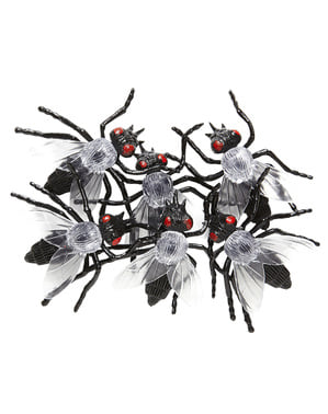 6 moscas infetadas