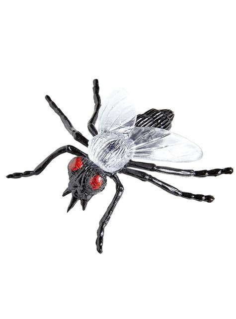 6 moscas infectadas Halloween - barato