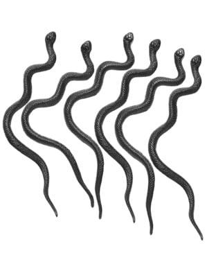 Zestaw 12 sztucznych zabójczych węży