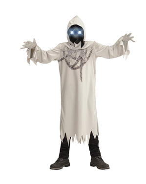 Disfraz de fantasma encadenado infernal para niño
