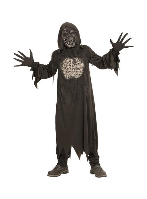 Disfraz de demonio de la oscuridad infantil - infantil