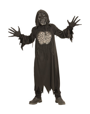 Kids demon of darkness costume