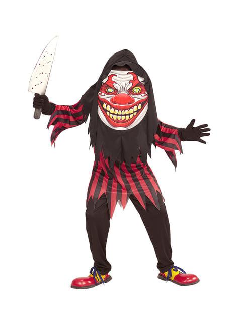 Kids gigantic horrifying clown costume