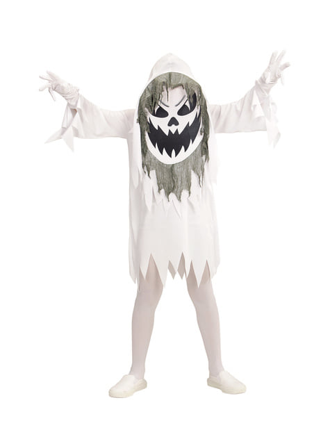 Fato de fantasma maligno gigante infantil