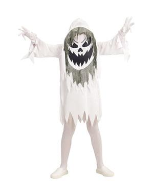 Costum de fantomă malefică gigantă pentru copii