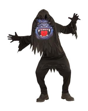 Gigantischer Gorilla Kostüm für Kinder