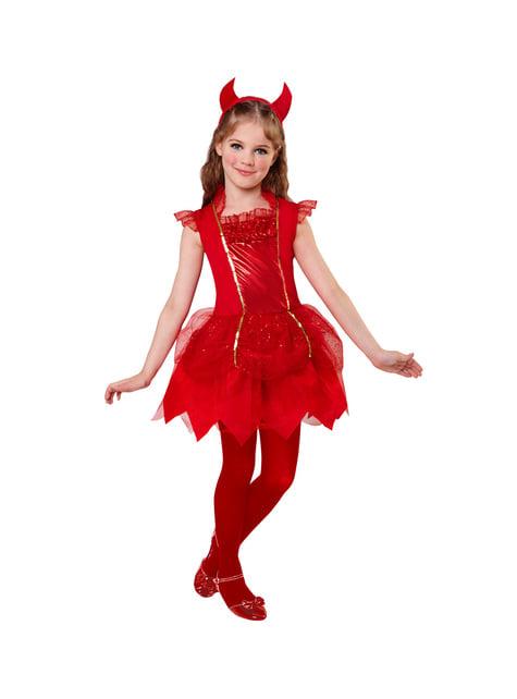Disfraz de diablita coqueta para niña