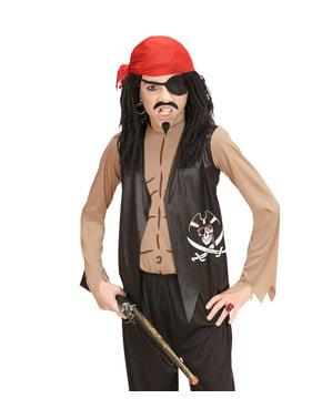 Maskeraddräkt pirat på de sju haven för barn