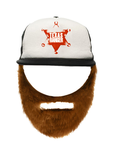 Chuck čapka s vousem pro dospělé