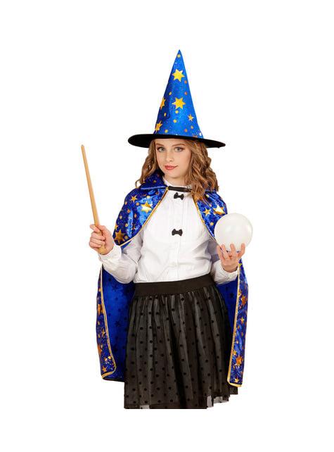 Disfraz de mago con estrellas infantil - infantil