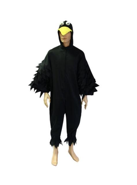 Fato de corvo noturno para adulto