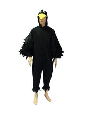 Costume da corvo notturno per adulto