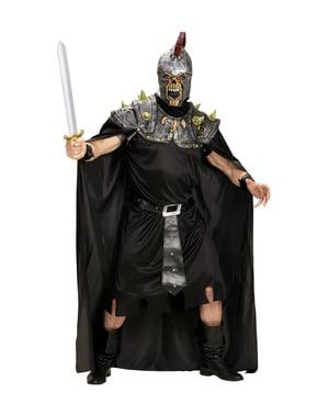 Fato de centurião romano infernal para homem