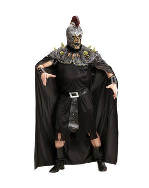 Disfraz de centurión romano infernal para hombre