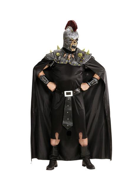 Disfraz de centurión romano infernal para hombre - traje