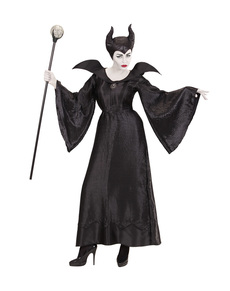 Women's Malifica dark witch costume