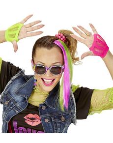 Kit disfraz de chica de los años 80