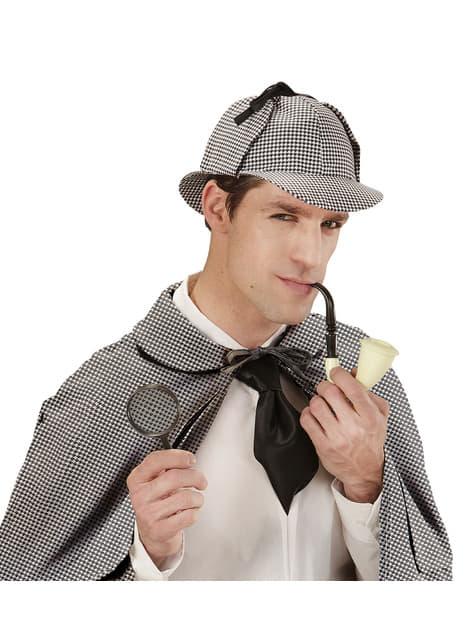 Kit disfraz de detective audaz para adulto - adulto