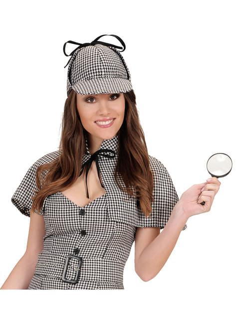 Kit disfraz de detective audaz para adulto - original