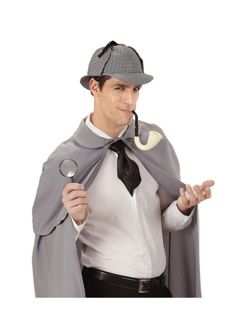 Adults' bold detective costume kit