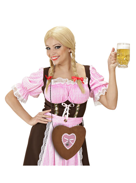 Bolso de Oktoberfest con forma de corazón - barato