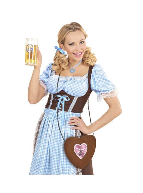 Bolso de Oktoberfest con forma de corazón - Halloween