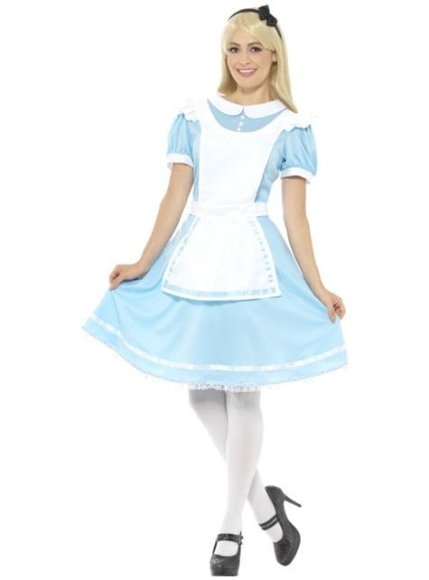 Alice kostuum van wonder voor vrouwen