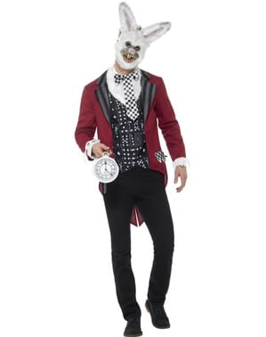 Dochvilný králík kostým pro muže