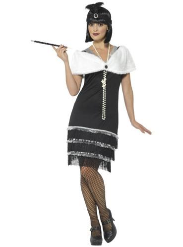 Costume da anni u0026#39;20 elegante per donna. Consegna express | Funidelia