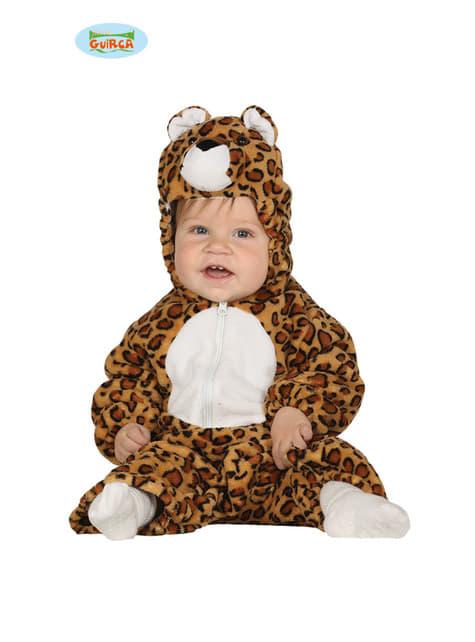 Ondeugend luipaarden kostuum voor baby's