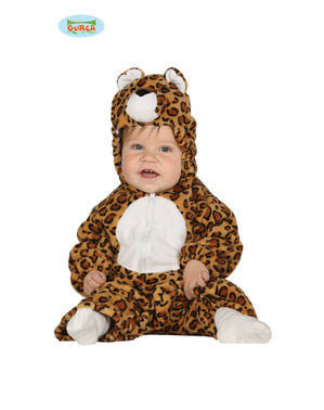 Kostium psotny lampart dla niemowlaka
