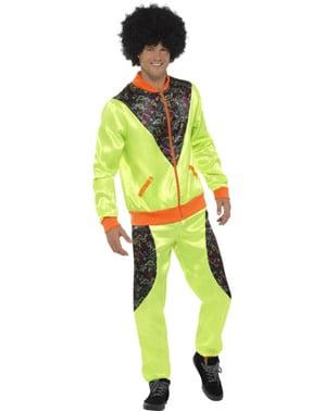Seksenli erkekler için retro eşofman kostümü