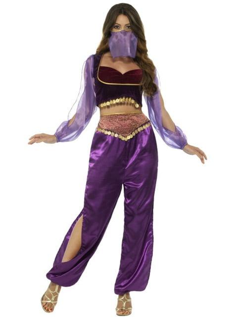 Belly Dancer Costume for Women in Purple