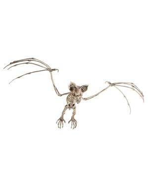 Figurine décorative squelette de chauve souris