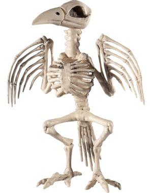 Figura decorativa scheletro di volatile