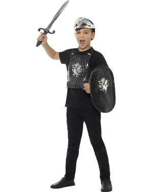 Dark Dragon Knight Kit for Kids