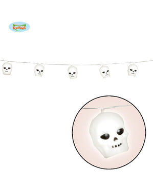 Hanging skull string lights