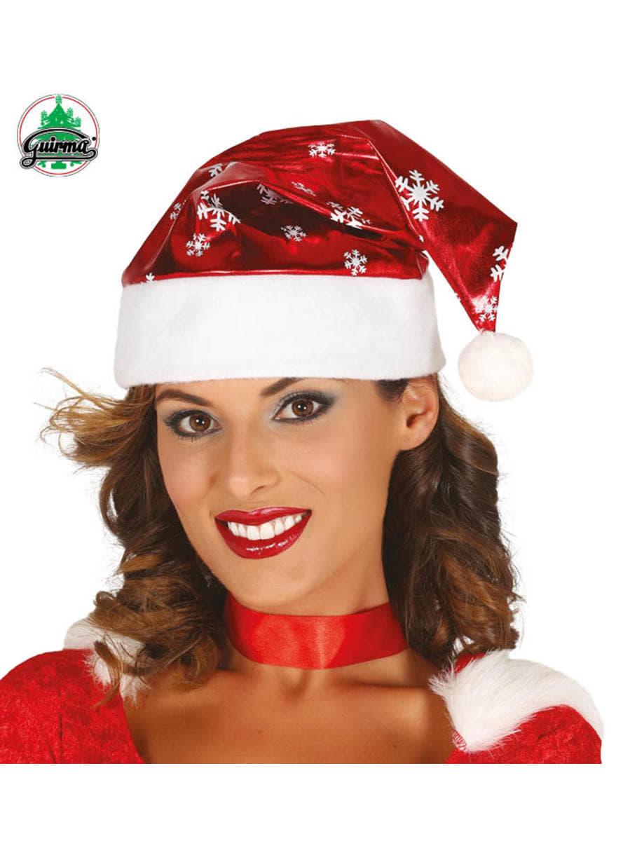 Cappello da Babbo Natale brillante con fiocchi ...  class