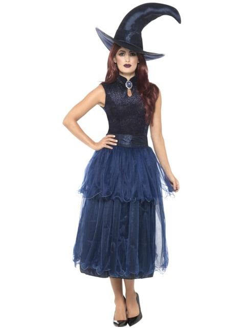 Women's midnight witch costume